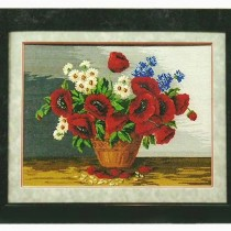 flowers needlework