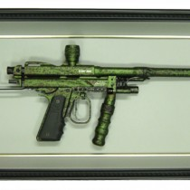 Green Paint Gun